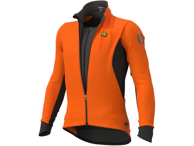 Alé Cycling Clima Protection 2.0 Course Combi DWR Giacca Uomo, fluo orange
